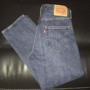 Levi's wedgie fit button fly